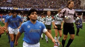 Diego Maradona (†60): SSC Neapel will Stadion in Stadio Maradona umbenennen