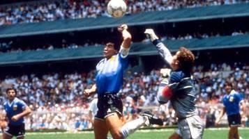 Zum Tod von Diego Maradona: Das ewige Kind und die Hand Gottes
