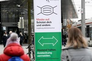 Corona-Inzidenz in Augsburg nahe 300: Ausgangssperre bleibt ein Thema