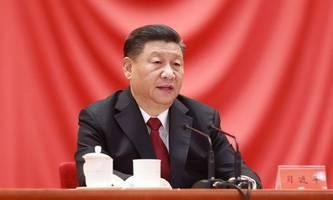 Chinas Präsident Xi gratuliert Joe Biden zum Wahlsieg