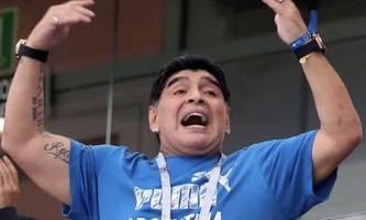 Weltfußballer Diego Maradona ist tot