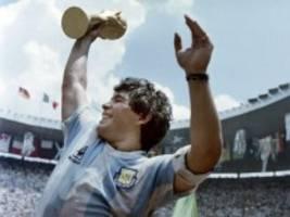 Zum Tod von Diego Maradona: Die Last, eine Legende zu sein