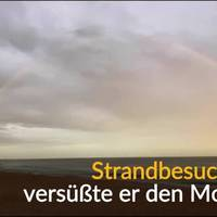 video: ein regenbogen wie aus dem bilderbuch