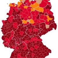 Virus-Lage in Deutschland: 304.000 aktive Corona-Infektionen – 65 Regionen in Deutschland sind Super-Hotspots
