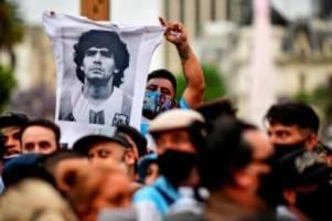 Diego Maradona: Weltweite Trauer um verstorbenen Maradona