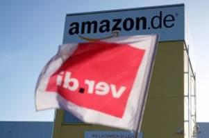 """Onlinehändler: Verdi: Amazon-Mitarbeiter streiken rund um """"Black Friday"""""""