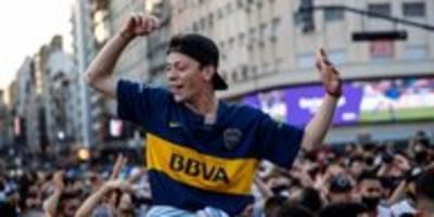 Diego Maradona in Buenos Aires: Trauer und Stolz