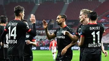 Europa League - Beste Offensive treffsicher: Bayer schon so gut wie weiter