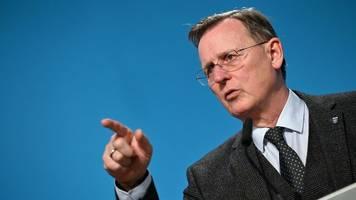 Ministerpräsident Ramelow: Situation im Vergleich moderat