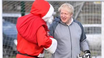 brief an boris johnson: kommt weihnachtsmann trotz corona?