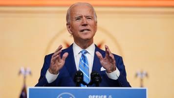 USA: Biden ruft zur Einheit im Kampf gegen Corona auf
