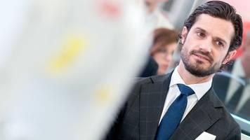 Schwedische Royals: Prinz Carl Philip positiv auf Corona getestet