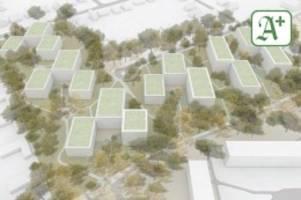 Wohnungen: Neubauten in Rahlstedt: Saga investiert 100 Millionen Euro