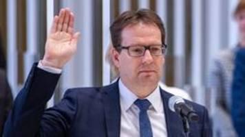 Mecklenburg-Vorpommern: Neuer Innenminister Torsten Renz ernannt