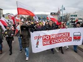 Mobilisierung über Landesgrenzen: Querdenker- Demo mit Zulauf aus Polen