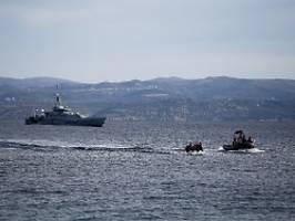 Pushback von Migranten-Boot?: Bundespolizei bei fragwürdigem Ägäis-Einsatz