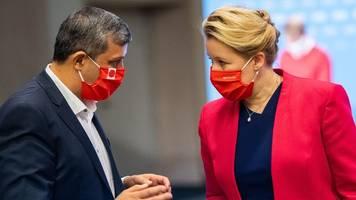 neue vorsitzende: giffey will berliner spd wieder zur volkspartei machen