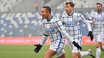 Serie A: Inter Mailand rückt nach Sieg in Sassuolo auf Platz zwei vor