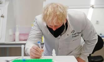 Boris Johnson ernennt Impfstoff-Staatssekretär