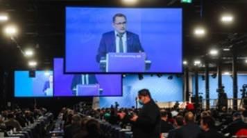 afd-parteitag: chrupalla wirft merkel notstandspolitik vor