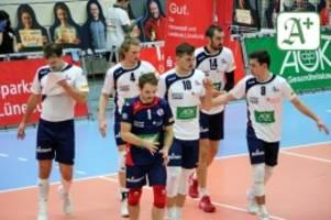 Volleyball-Bundesliga: SVG Lüneburg quält sich zum Sieg in Unterhaching