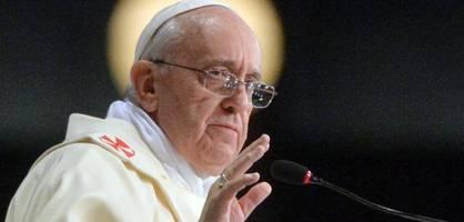"China kritisiert Papst-Aussagen zum Leid der ""armen Uiguren"""