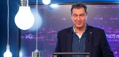 """Söder rechnet bei der Bundestagswahl mit """"Wimpernschlagfinale"""""""