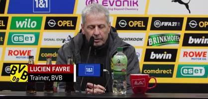 """Favre über Köln-Niederlage - """"Wir waren zu hektisch"""""""