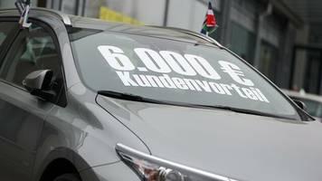 CAR-Institut: Experten erwarten kaum noch Rabatte auf Neuwagen