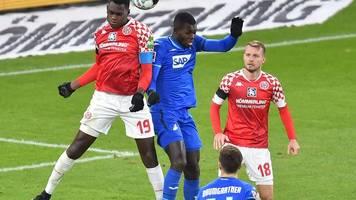 9. Spieltag: Hoffenheim mit Remis in Mainz - Trainer verärgert