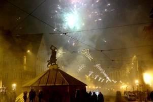 Wo in Augsburg ist Feuerwerk an Silvester erlaubt?