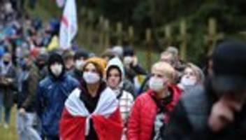 Proteste in Belarus: Sie trotzen Lukaschenkos Schergen