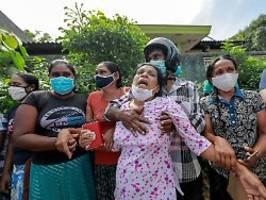 Sie fordern mehr Corona-Schutz: Acht Tote bei Gefängnisrevolte auf Sri Lanka