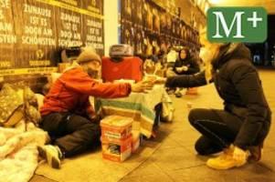 Berlin: Corona und die Kälte machen es Obdachlosen schwer