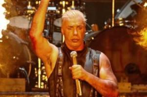 Musiker: Rammstein-Frontmann Till Lindemann kündigt Solo-Projekt an