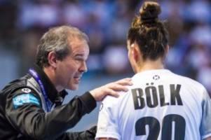 Handball: Corona-Infektion: Deutsche Frauen ohne Bundestrainer zur EM