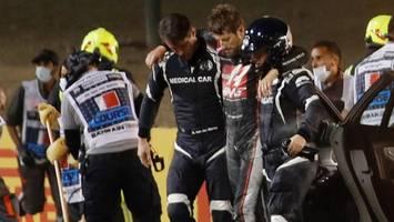 Formel 1: Unfall-Pilot Romain Grosjean meldet sich aus dem Krankenhaus