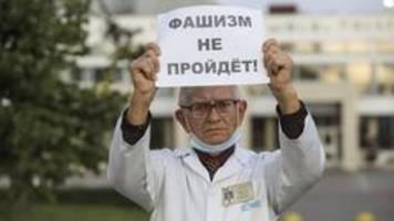 Repressionen in Belarus: Ich bin kein Richter, sondern Arzt
