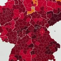 Aktuelle Virus-Lage: Schon 4000 Covid-Intensivfälle in Deutschland – klares Nord-Süd-Gefälle erkennbar