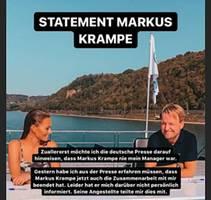 Berater beendet Zusammenarbeit: Sein Handeln verletzt mich menschlich: Laura Müller kritisiert Markus Krampe