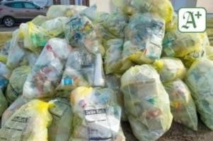 Kommunen: Stadtreiniger müssen wegen Corona mehr Plastikmüll entsorgen