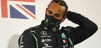 Lewis Hamilton hat Corona