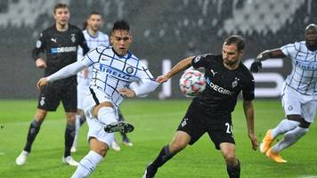 Gladbach bangt um Champions League: 2:3 gegen Inter