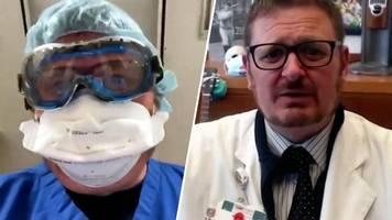 Letzte Momente im Leben von Corona-Patienten: Arzt erklärt dramatisches Video