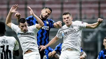 Champions League: So sehen sie Gladbach gegen Inter Mailand live im TV & Stream
