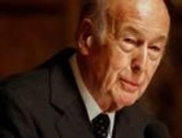 Französischer Ex-Präsident Giscard d'Estaing tot