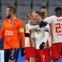 Champions League: Zittern bis zum Ende: RB Leipzig gewinnt knapp in Istanbul