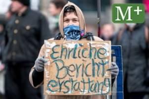 """Corona-Pandemie: Gegen """"Lügen der Presse"""": Querdenker demonstrieren in Mitte"""