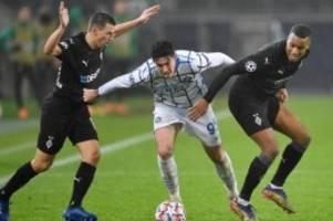 Champions League: Wahnsinnig bitter: Gladbach zittert ums Achtelfinale