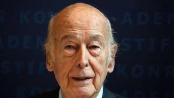 Überzeugter europäer: französischer altpräsident giscard d'estaing gestorben